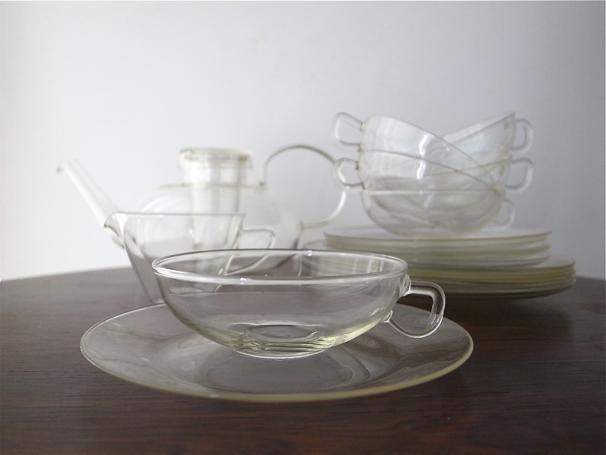 Jenaer Glas Tea Pot Set Sold Fem Tre Noll