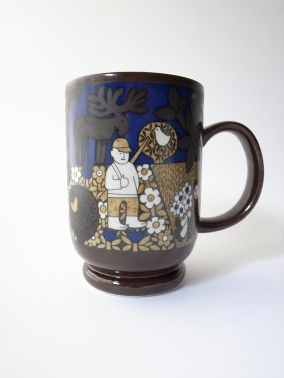 Arabia Kirin Beer Mug Collection 1986 アラビア キリン ビアマグコレクション